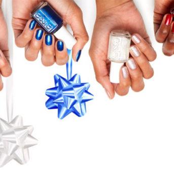 Nomen est omen: die Essie Winterkollektion 'let it bow' ist inspiriert von festlichen Geschenkverpackungen - und sorgt für ein tolles Upgrade der Nägel.