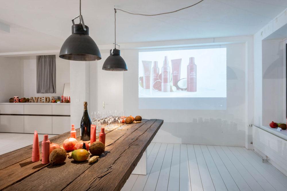 sonrisa hat an der Lancierung der Nutriplenish-Linie von Aveda tolle Produkte kennengelernt.