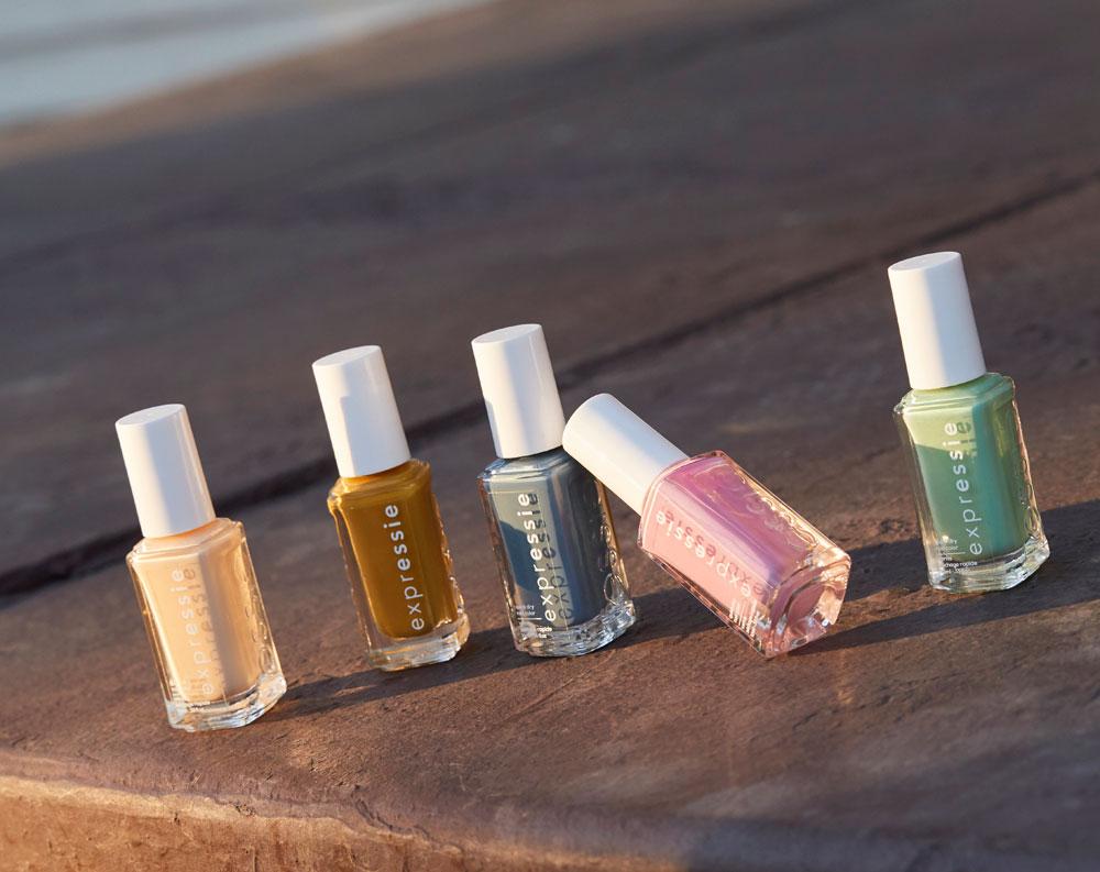 Mit Essie Expressie lanciert der US-Nagellack-Brand seine erste schnelltrocknende Lack-Kollektion.