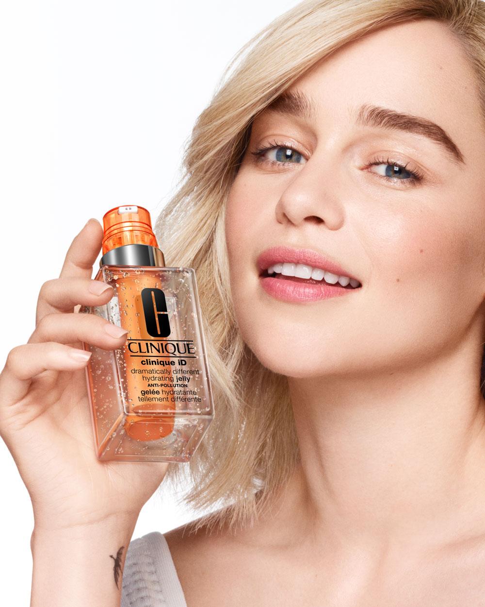 auf sonrisa hast Du es als erstes gelesen: Clinique ernennt Schauspielerin Emilia Clarke zur ersten Botschafterin in der Geschichte der Firma!