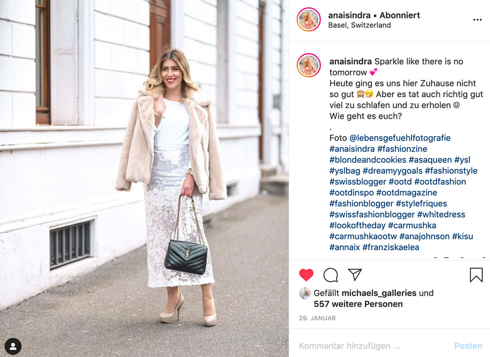 sonrisa war an der Neuheiten-Präsentation von Dior und entdeckte viele Produkte für den inneren VIP.