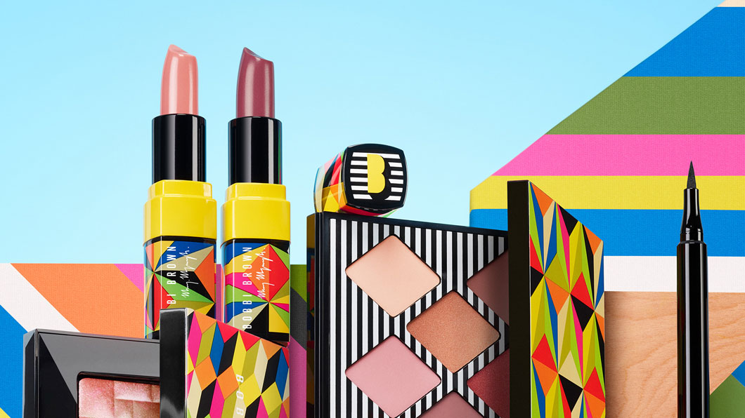 Sneak Peek: Bobbi Brown x Morag Myerscough