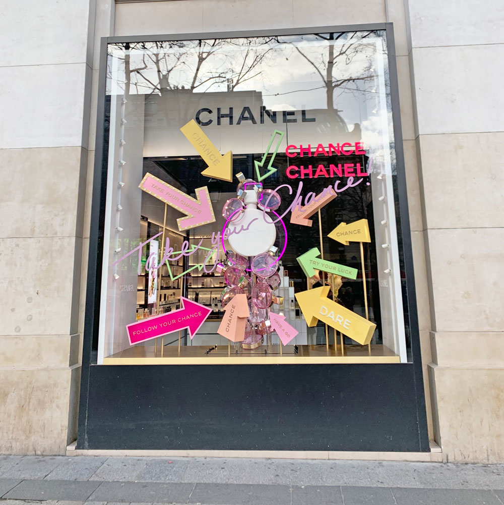 sonrisa war mit Chanel in Paris und hat viele Fotos von dieser unvergesslichen Presse-Reise mitgebracht.