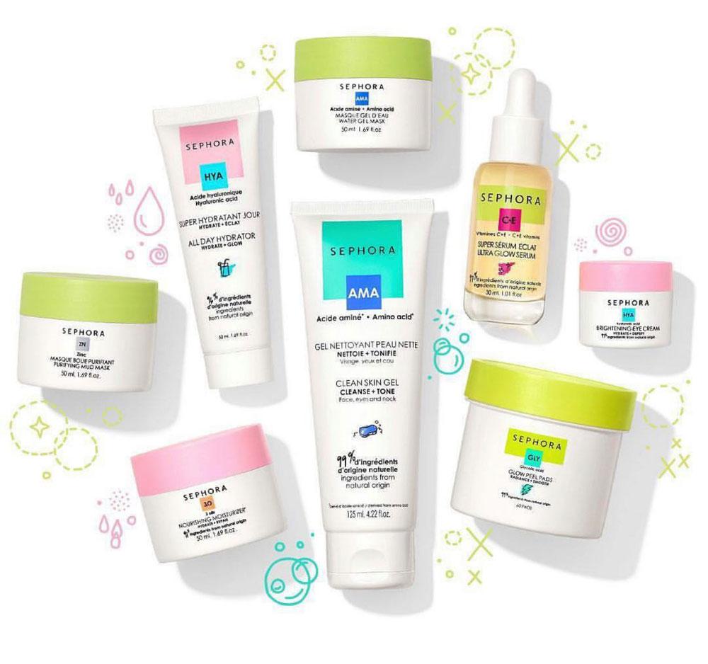 Sephora lanciert die Hautpflegeserie Good for skin, you, all aus überwiegend natürlichen Wirkstoffen.