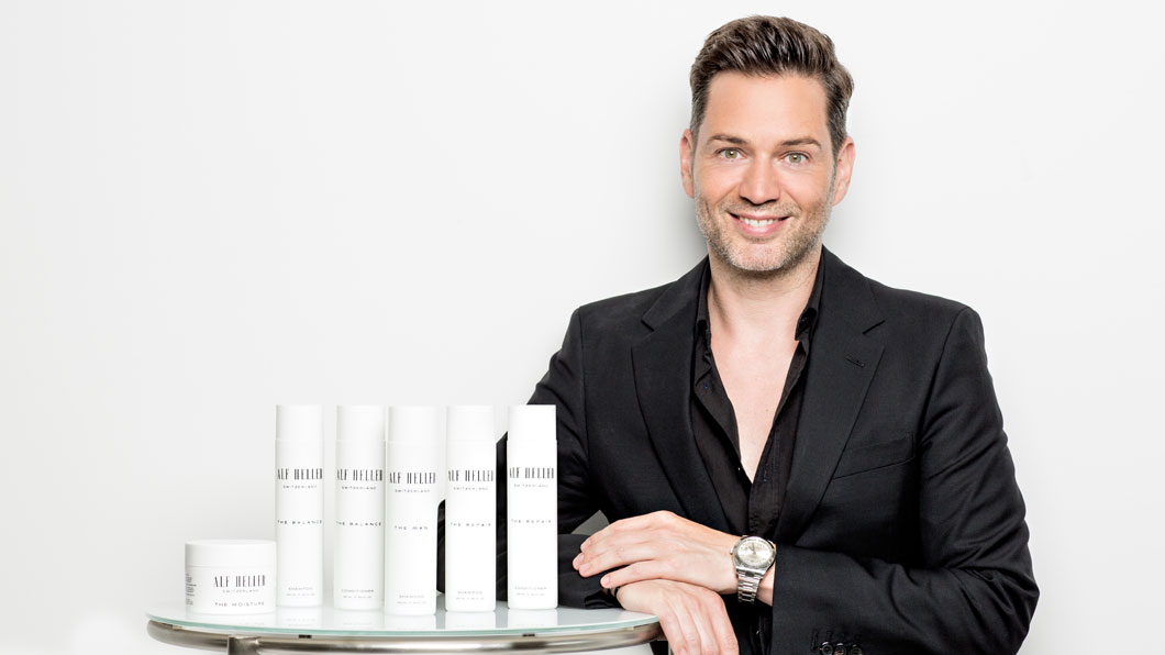 Alf Heller Cosmetics: Clean Haircare made in Switzerland