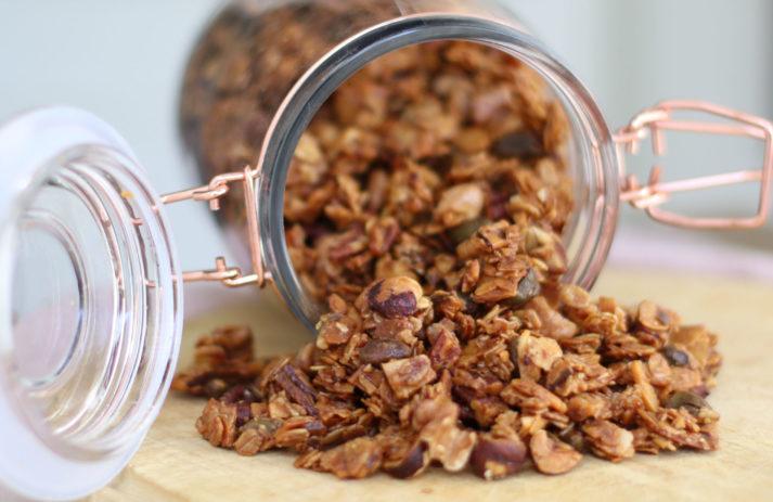 Schmeckt gut, tut gut und macht schön: Granola, zu dem es auf sonrisa ein einfaches Rezept gibt.