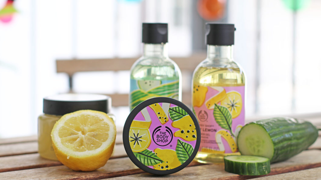 Stay cool and win: The Body Shop Cool Cucumber & Zesty Lemon