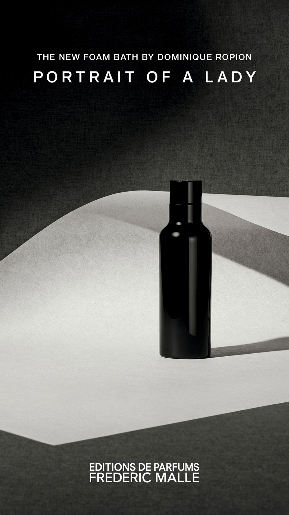 Zum 20. Jubiläum der Editions de Parfum lanciert Frédéric Malle The Bath Foam for Portrait of a Lady.