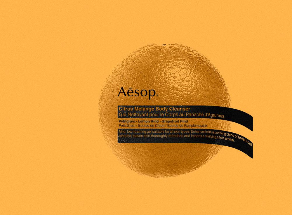 Der neue Citrus Melange Body Cleanser von Aesop ist ein prickelnd-erfrischender Stimmungsbooster.