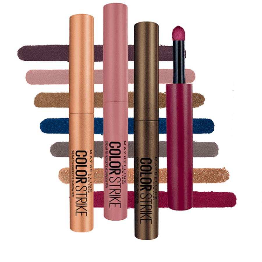 Mit Lidschattenstiften wie dem neuen Colorstrike Pen von Maybelline New York schaffen wir den ultimativen Augenlook in Rekordzeit.