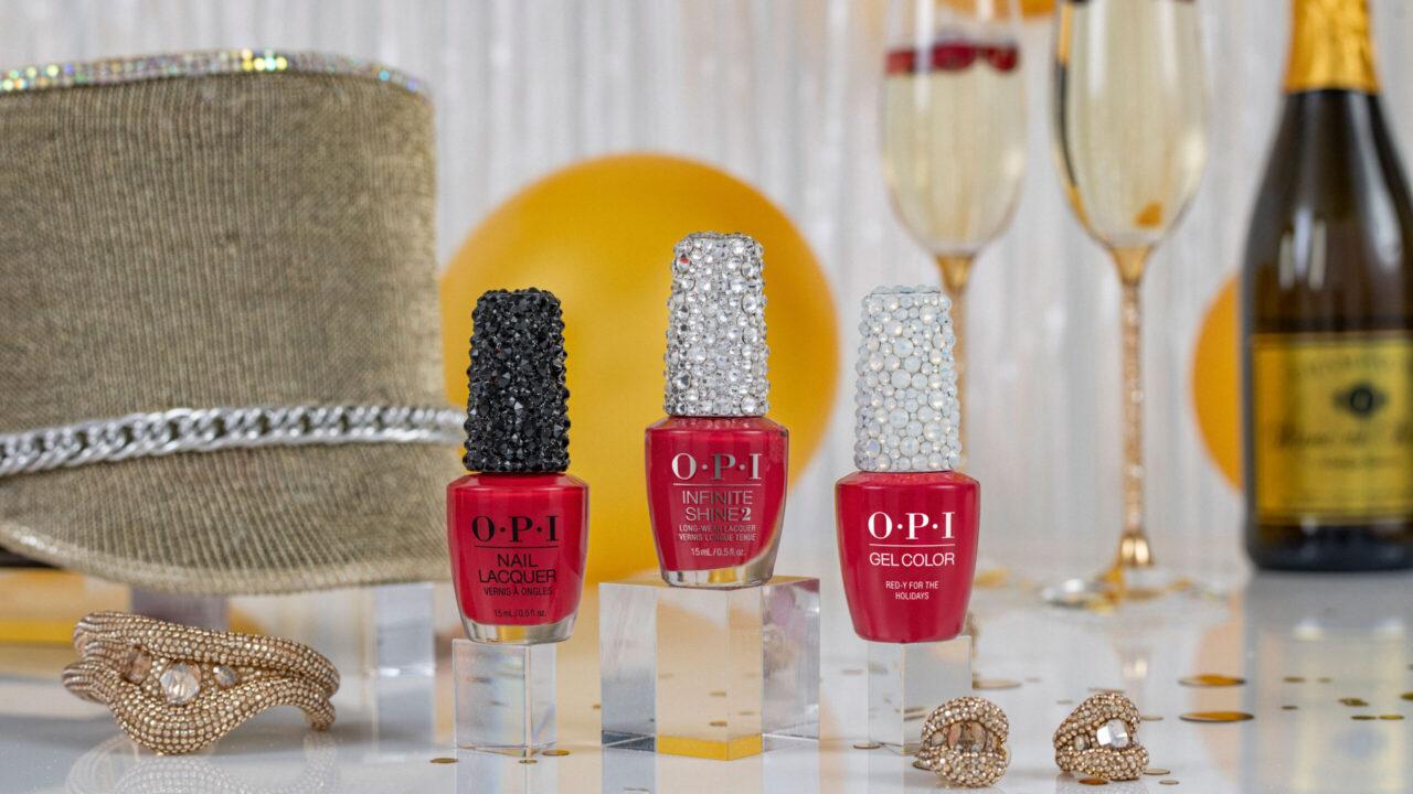 Die limitierte Weihnachtskollektion Shine Bright by OPI sorgt für viel Bling-Bling auf den Nägeln!
