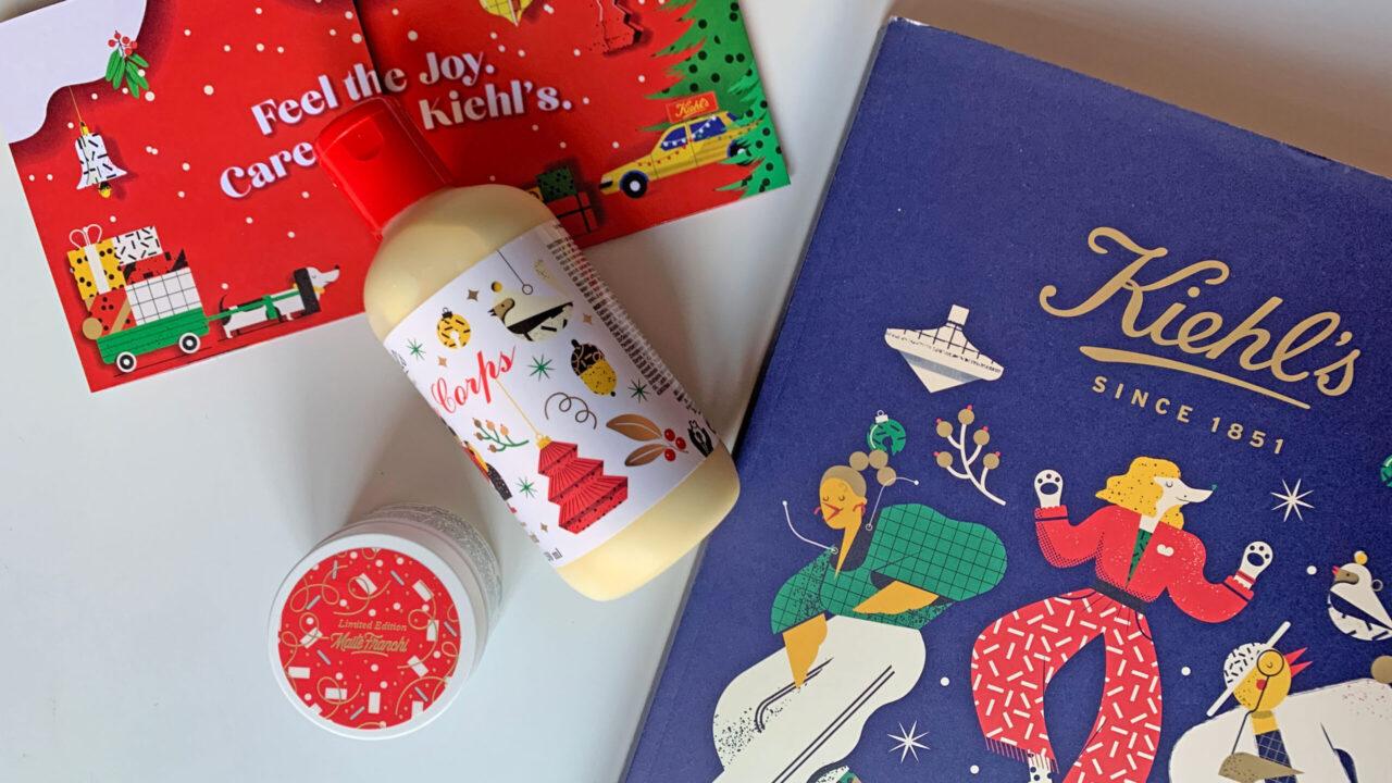 Kunst trifft auf Beauty: Die diesjährige Holiday Collection von Kiehl's wurde von der französischen Illustratorin Maïté Franchi gestaltet.