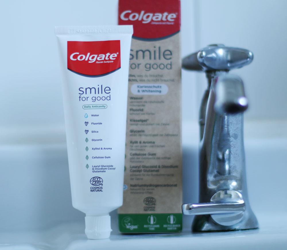 Nachhaltig schön? Das ist möglich – zum Beispiel dank der Smile for Good-Zahnpasta von Colgate.