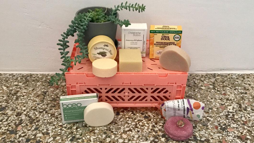 Klotzen statt kleckern: fünf Shampoo-Bars im Test