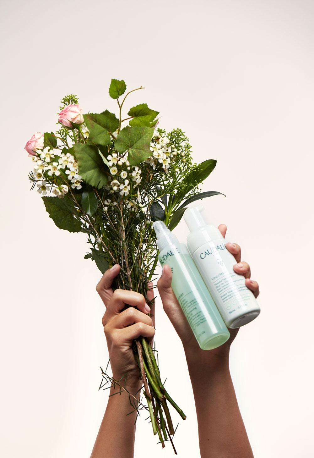 """Caudalie lanciert mit Vinoclean nach eigenen Aussagen """"the cleanest and greenest cleanser"""", die gut für die Haut und die Umwelt sind."""