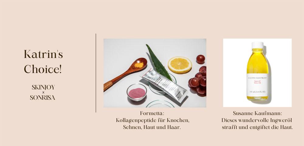 Welche Produkte sind in der regelmässigen Pflege-Rotation einer Beauty-Journalistin? Die Antwort auf diese Frage gibt es in der neusten Ausgabe der Rubrik sonrisa Beauty Favorites.