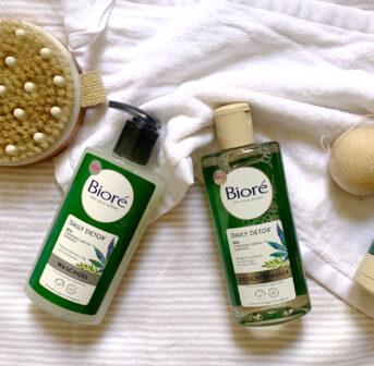 Bioré Daily Detox bekämpft stressbedingte Unreinheiten mit Cannabis-Sativa-Samenöl.