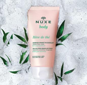 Die neue Körperpflege-Linie Nuxe Rêve de thé punktet mit tollen Texturen und einem bezaubernden Duft.