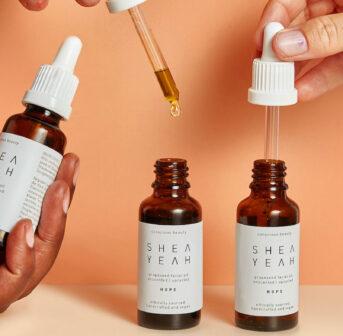 Nachhaltig schön? Das geht – zum Beispiel mit dem Traubenkernöl Hope von Shea Yeah.